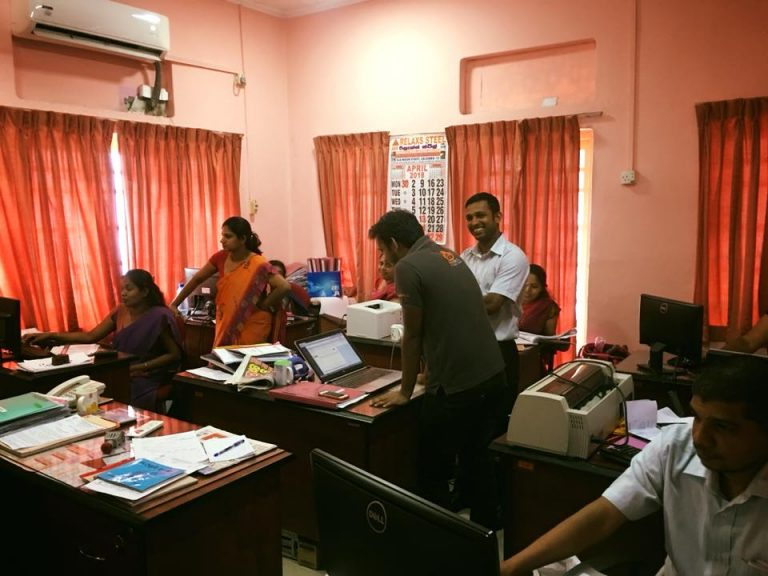 Training at Agriculture Ministry
